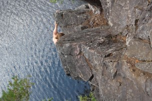 (Not so) deep water soloing